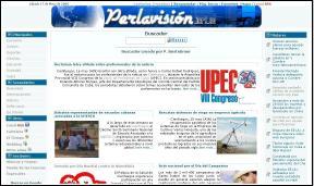Nuevo diseño del sitio web de Perlavision.