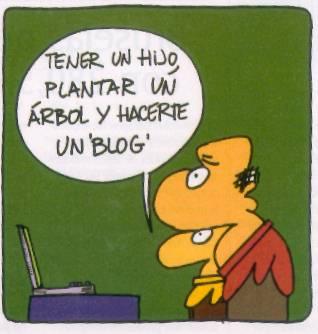 El blog y yo.
