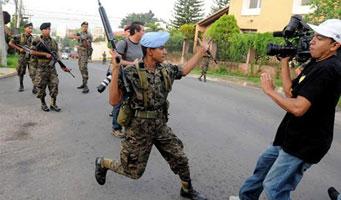 Golpe de estado en Honduras: represión militar