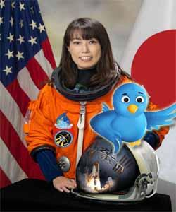 Twitter ya transmite desde el espacio