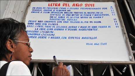 Letra del Año en Cuba: sincretismo, religión e identidad