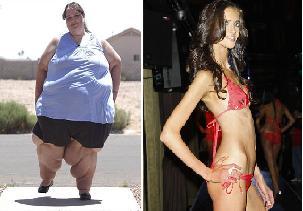 Unas quieren bajar de peso y otras subir