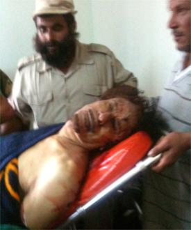 Gadafi asesinado y el petróleo libio ya coge rumbo norte