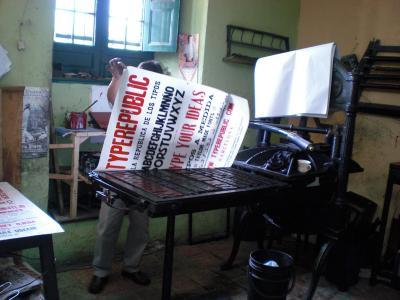 La Imprenta, de las rotativas al offset