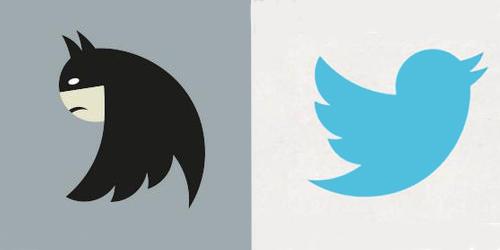 Nuevo Twitter y Batman se parecen