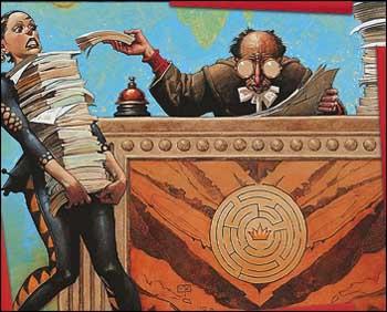 La burocracia, el pan nuestro de cada día