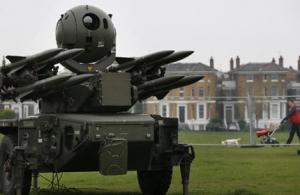 Juegos Olímpicos de Londres con misiles tierra-aire