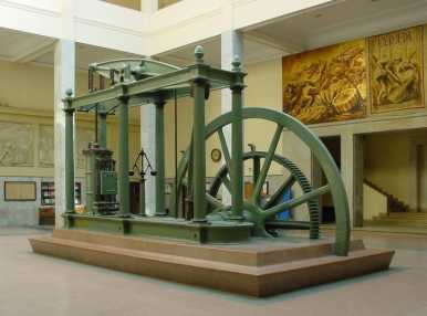 La máquina de vapor: motor de desarrollo