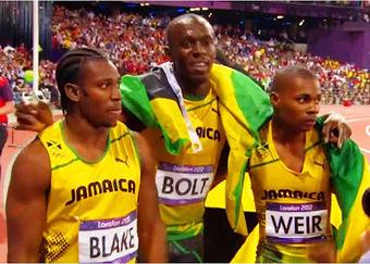 Jamaica se roba el podio de los 200 metros y Bolt gana de nuevo