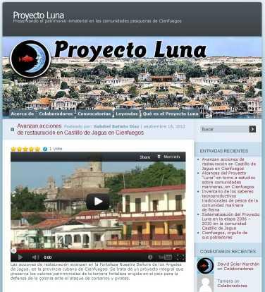 El Proyecto Luna, en Cienfuegos