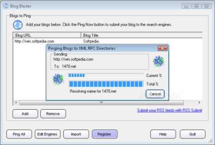 Buscando más visitantes para mi bitácora con Blog Blaster