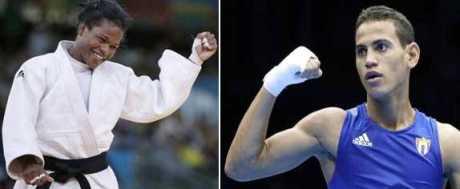 Yanet Bermoy y Robersy Ramírez, atletas cienfuegueros más destacados del 2012