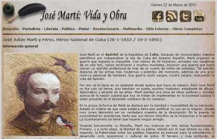 Recibe premio internacional Dossier-Multimedia sobre José Martí